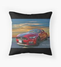 Great looking new Mustang Throw Pillow