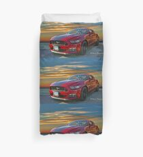 Great looking new Mustang Duvet Cover