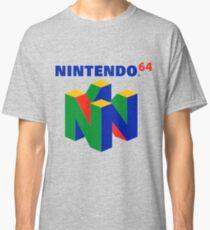 Camiseta clásica Logotipo de Nintendo 64