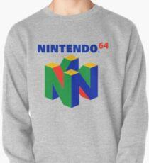 Sudadera sin capucha Logotipo de Nintendo 64