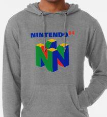 Sudadera con capucha ligera Logotipo de Nintendo 64