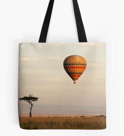 Dawn flight over the Masai Mara Tote Bag