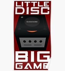Little Disc, Big Game Poster