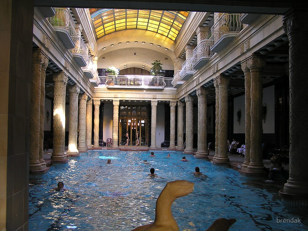 Bathhouse in Budapest by brendak