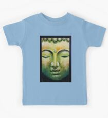 Lord Gautama Buddha Face Kids Tee