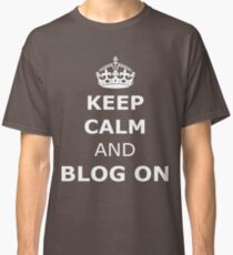 Blog on  Classic T-Shirt