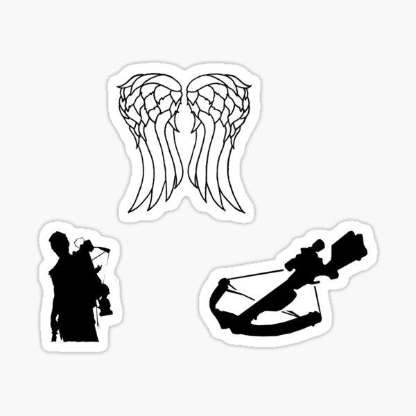 Daryl Sticker Set - The Walking Dead Sticker