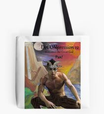 DeCONpression 12 Welcomes Pan Tote Bag