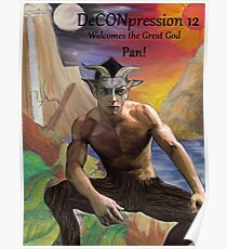 DeCONpression 12 Welcomes Pan Poster