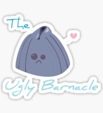 The Ugly Barnacle Sticker