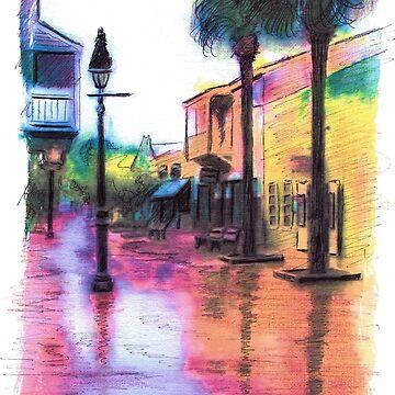 """""""George St, Saint Augustine FL"""" by mkirkwood"""