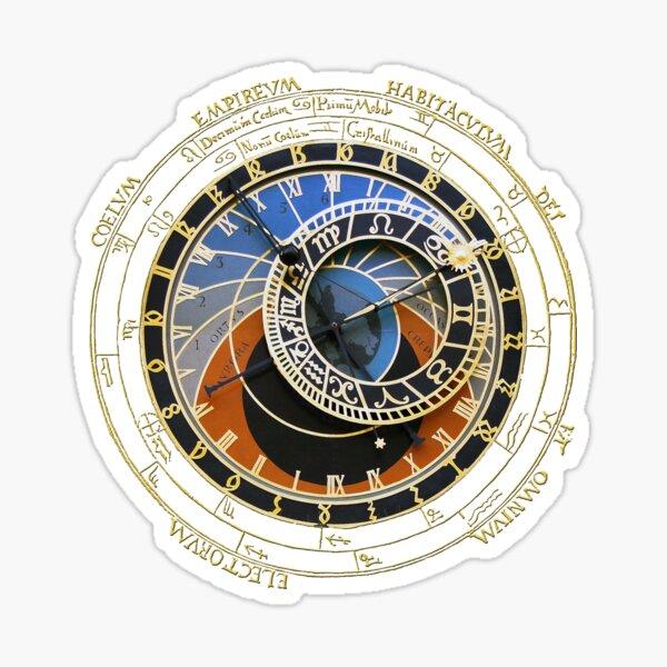 Astronomical Clock Sticker