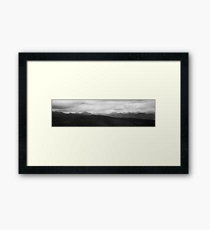 Grampians Panorama 1 Framed Print