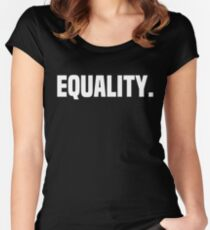 Equality Women's Fitted Scoop T-Shirt