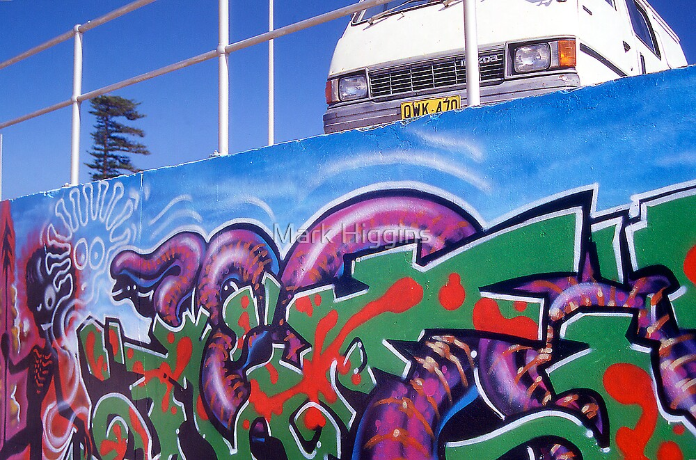 Bondi Graffiti by Mark Higgins