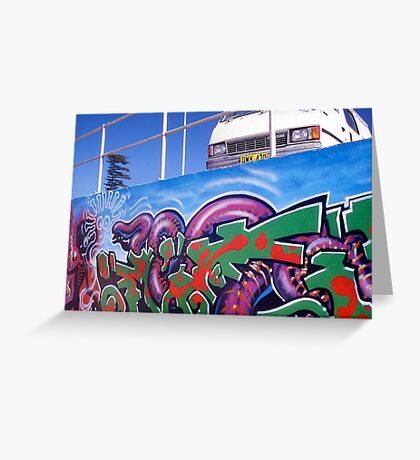 Bondi Graffiti Greeting Card