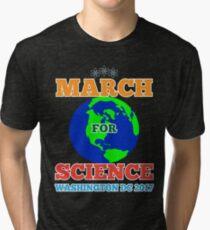 March For Science Washington DC TShirt Earth Day Shirt Tri-blend T-Shirt