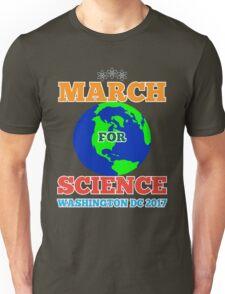 March For Science Washington DC TShirt Earth Day Shirt Unisex T-Shirt
