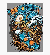 Sonic Skater Photographic Print