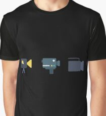 Evolution of the Camera Graphic T-Shirt
