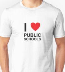 I Heart Public Schools - I Love Public Schools T-Shirt