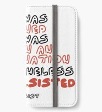 She Persisted iPhone Wallet/Case/Skin