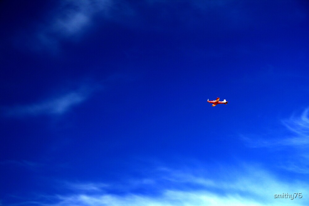 Red Plane by smithy76