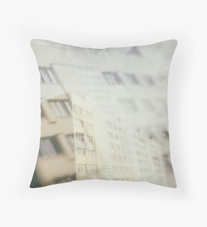 moving poetry - the 6th floor Throw Pillow