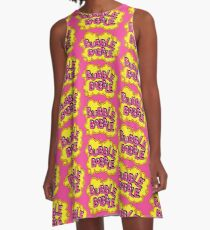 Bobble Bobble mayhem! A-Line Dress
