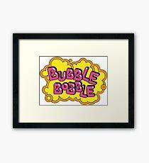 Bobble Bobble mayhem! Framed Print