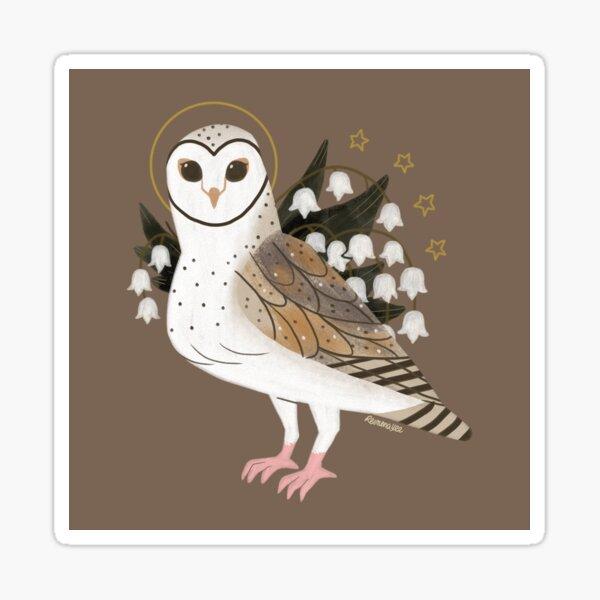 Familiar - Barn Owl Sticker