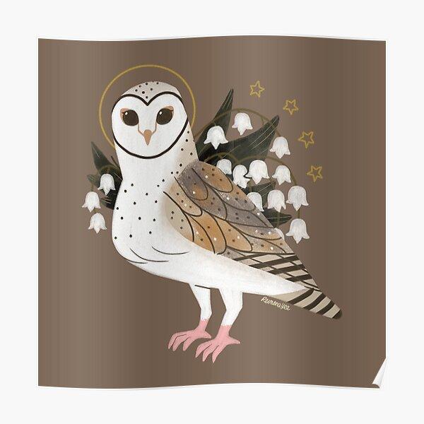 Familiar - Barn Owl Poster