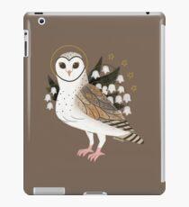 Familiar - Barn Owl iPad Case/Skin
