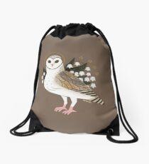 Familiar - Barn Owl Drawstring Bag