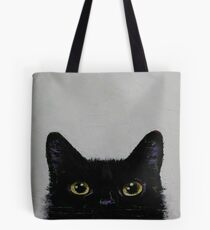 Black Cat Tote Bag
