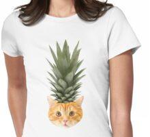 [ P I N E A P P L E _ P U N K _ K I T T Y] Womens Fitted T-Shirt