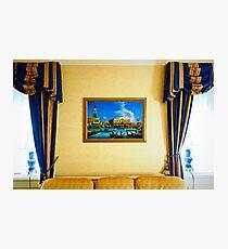 Waldorf Astoria Room Study 2  Photographic Print