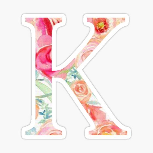 K/Kappa Sticker