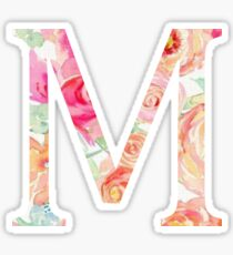 M/Mu Sticker