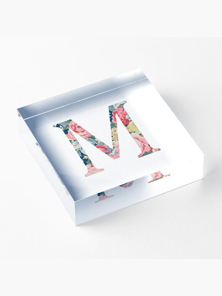 Alternative Ansicht von M/Mu Acrylblock
