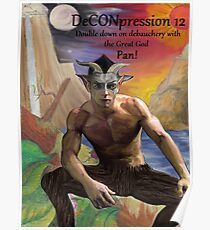 DeCONpression 12 Pan Double Down Poster