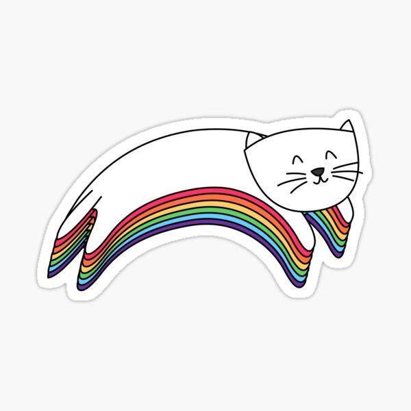 Rainbow Kitty Sticker