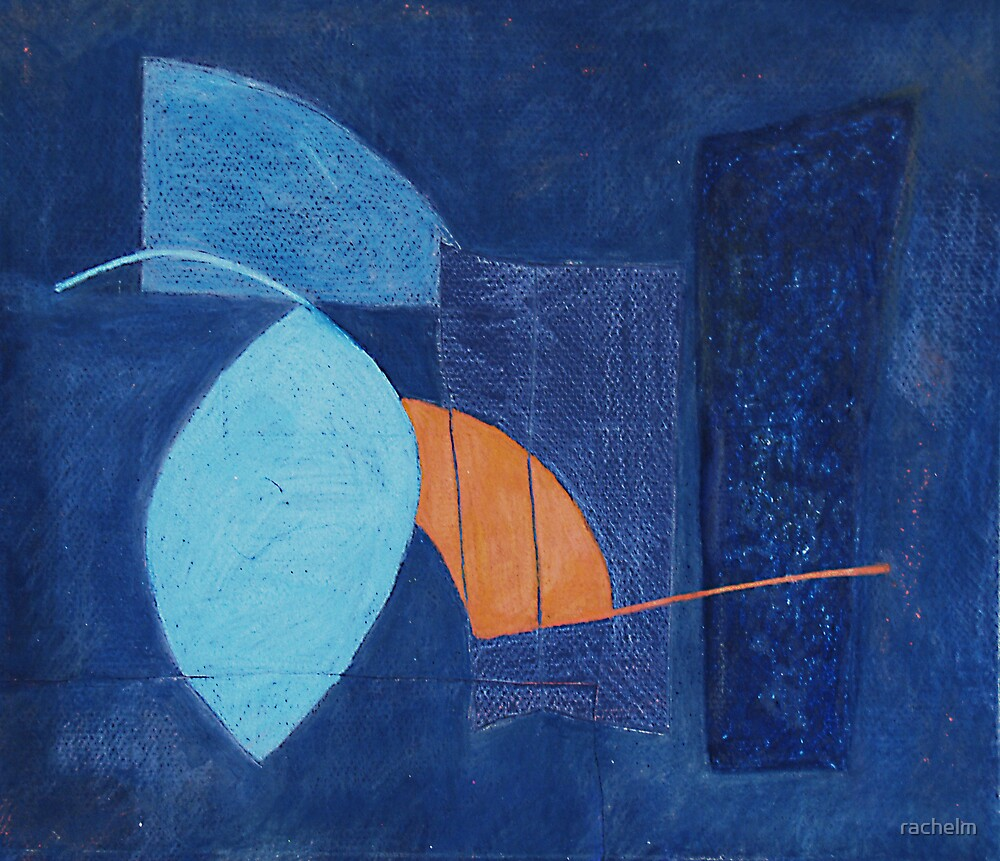 Composition in Blue by rachelm