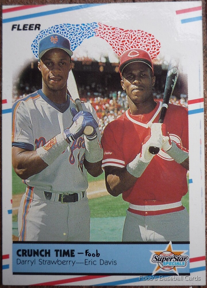 253 - Crunch Time by Foob's Baseball Cards