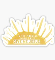 Christian Quote, Sticker Sticker
