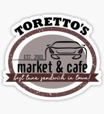 Torettos Markt und Cafe Sticker