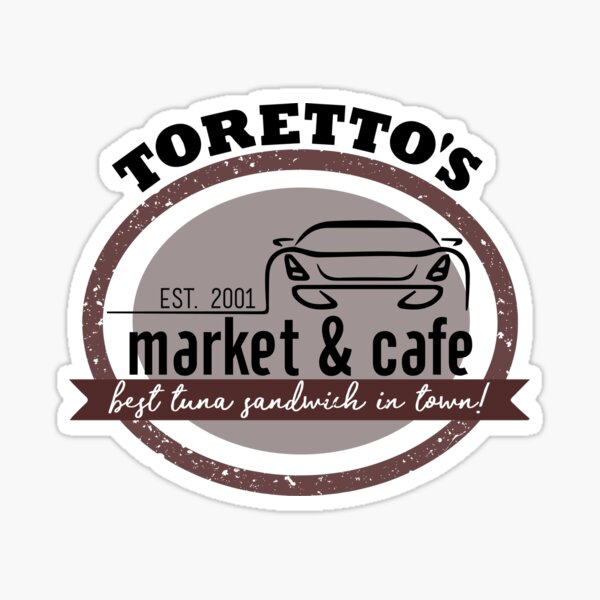 Toretto's Market and Cafe Sticker