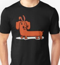 Dachshund Bunny Funny Puppy Easter Animal Pet Unisex T-Shirt