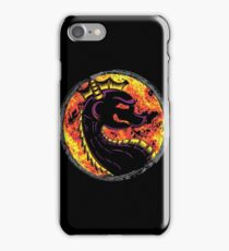 Mortal Kombat Kombat The Dragon iPhone Case/Skin