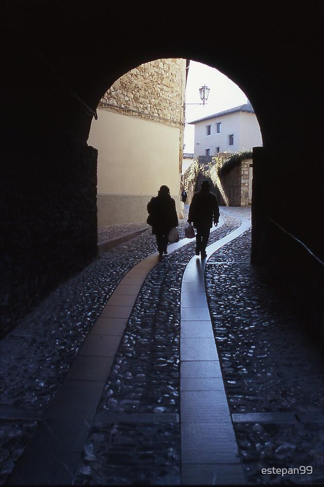 walking through the dark by estepan99